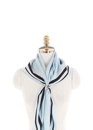 ac4906 데일리한 무드의 하이퀄리티 스퀘어 더블 라이닝 빅 실크 스카프 scarf
