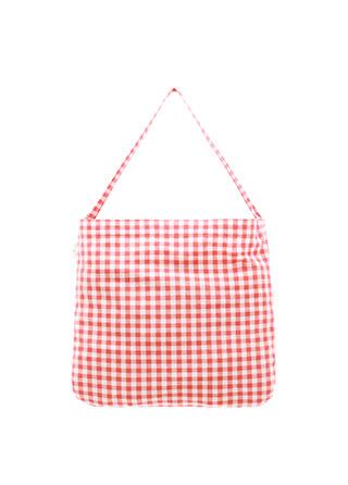bg1242 귀여운 체크 패턴 데일리 세컨드 숄더백 bag