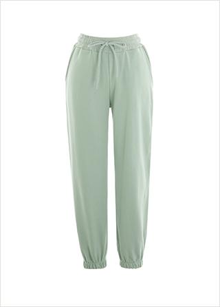 ps2647 탄탄한 코튼 소재로 제작된 컬러풀 스트링 조거팬츠 pants