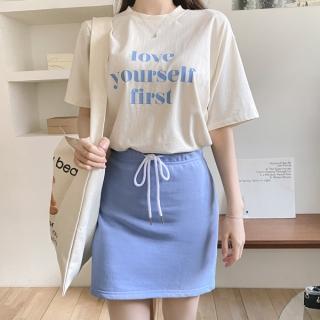 ts2390 レタリング半袖Tシャツ