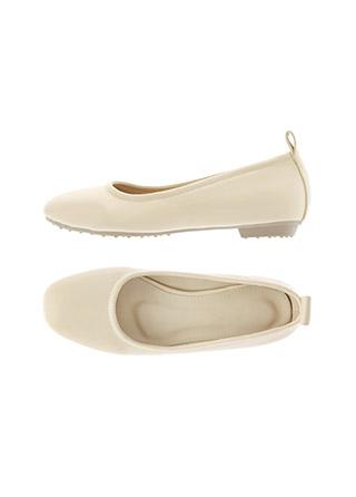 sh2291 군더더기없이 깔끔한 디자인의 둥근 앞코 베이직 플랫 shoes