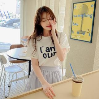 ts2480 レタリング半袖Tシャツ