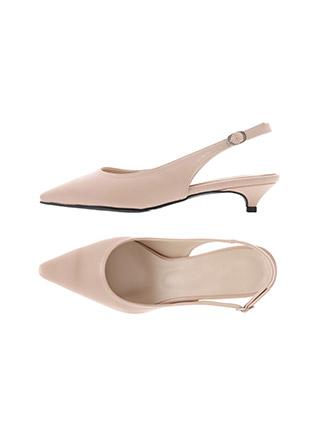 sh2315 미들굽과 로우굽 선택이 가능한 10컬러 스틸레토 슬링백 슈즈 shoes