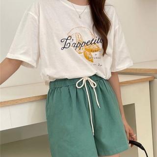 st1120 レモンtシャツ&ゴムショーツセットアップ