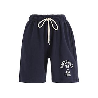 ps3334 탄탄한 코튼 패브릭의 캐주얼 꾸안꾸 무드 트레이닝 숏 팬츠 pants